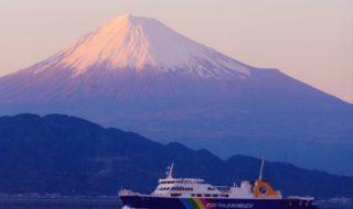 夕焼け 富士イメージ 圧縮版