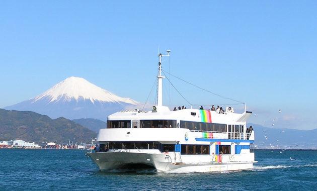 ベイプロムナード号(富士山と船)イメージ①