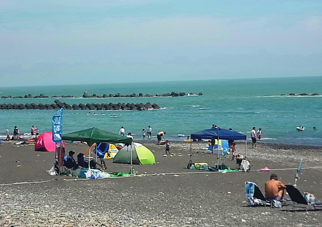 用宗海岸海水浴場